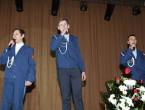 Ярко, талантливо, искренне поздравили своих защитников студенты университета