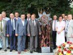 Руководство университета приняло участие в открытии композиции «Медицинским работникам ДНР»