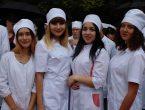 В ДонНМУ прошел праздник посвящения в студенты