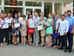 Торжественно, волнительно прошло  вручение  дипломов Северо-Осетинской государственной медицинской академии врачам ДНР по итогам государственной аттестации 2017 года