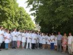 Врачи-интерны приняли участие в акции «Врачи мира за мир»