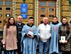 Студенты ДонНМУ им. М. Горького продолжают акцию «Студенты-медики против курения, наркомании и СПИДа»