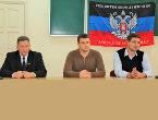 В ДонНМУ им. Горького прошла встреча трудового коллектива с представителями районной администрации
