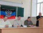 В ДонНМУ им. М. Горького прошла встреча с представителями администрации Калининского района