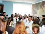 Выездное занятие в Народном университете «Юный медик»