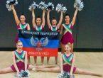 Наши студенты – призеры Международного турнира по чирлидингу