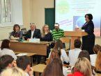 В медицинском общеобразовательном лицее-предуниверсарии прошла  I-я научно-исследовательская конференция «Шаги в науку»