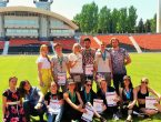 Сборная команда университета по легкой атлетике стала бронзовым призером Второй Универсиады ДНР