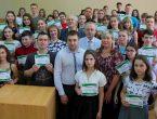 В народном университете «Юный медик» вручены дипломы