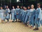 Студенты-медики провели акцию против СПИДа, наркомании и курения