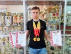 Наш студент стал победителем на двух дистанциях в Чемпионате Ростовской области по легкой атлетике