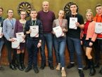 Студенты университета первенствовали на чемпионате города по дартсу