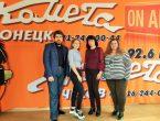 """Студенты-медики посетили радиостанцию """"Комета"""", став гостями программы """"Дороги памяти"""""""