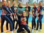 Успехом нашей сборной команды окончились соревнования «Кубок ДНР по спортивной аэробике»