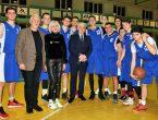 На спортивной базе университета стартовал второй сезон «Студенческой баскетбольной Лиги»
