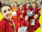 Прошли чемпионат и первенство Донецкой Народной Республики по чирлидингу