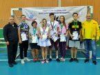 Спортсмены университета и лицея-предуниверсария успешно выступили на VII Республиканском турнире по бадминтону
